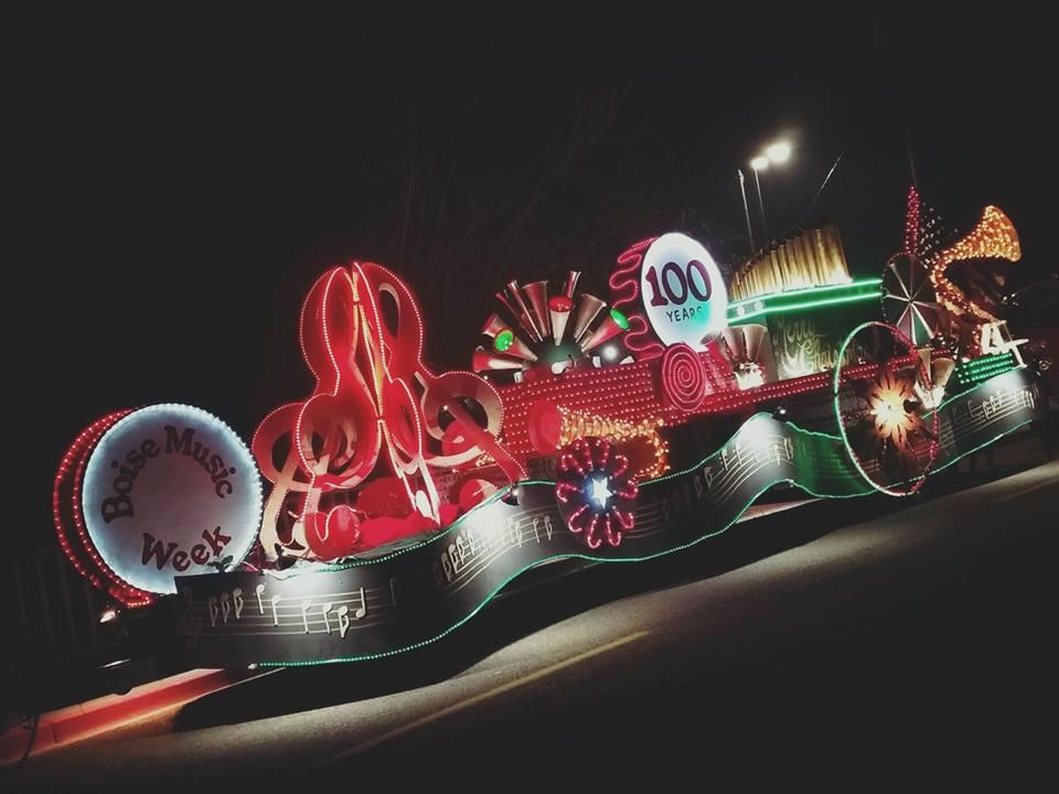 Treasure Valley Night Light Parade 2017