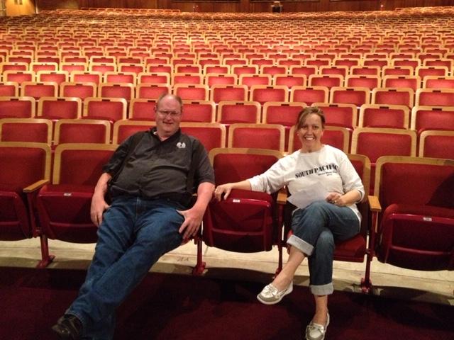 Brent Karlberg with Allyn Krueger